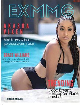 Ex Money Magazine Presents Akasha Vixen