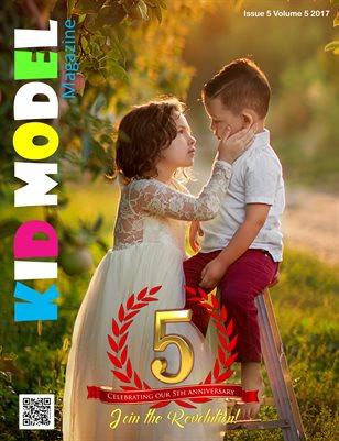 Kid Model Magazine 5th Anniversary issue 2017