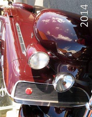 Calendar: Dream Rides 2014