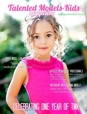 Talented Models-Kids Magazine (Spring/summer 2013)