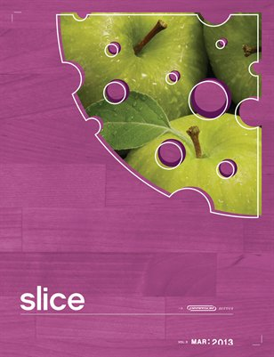 SLICE 3rd Edition March 2013 Vol. 3 Food