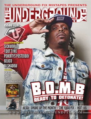 The Underground Fix Magazine Issue #24