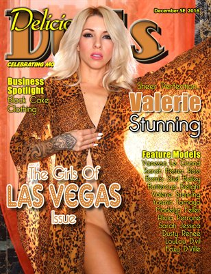 December 2016 Girls of Las Vegas Valerie Stunning cover