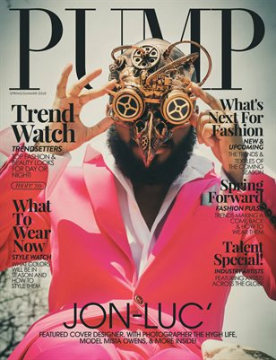 PUMP Magazine | The Trendsetter Issue | Vol.1 | May 2021