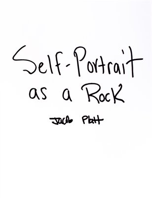 Self Portrait as a Rock
