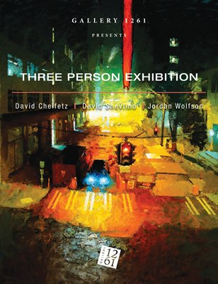 Three Person Exhibition: David Cheifetz, David Shevlino and Jordan Wolfson