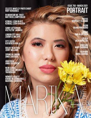 MARIKA MAGAZINE PORTRAIT (ISSUE 750- MARCH)