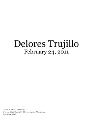 Delores Trujillo February 24, 2011