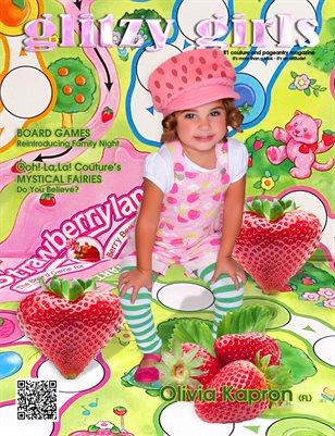 Glitzy Girls 2020 MId-Summer - Cover Olivia Kapron