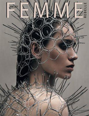Femme Rebelle Magazine June 2021 REGULAR ISSUE - Dennis Ostermann Cover