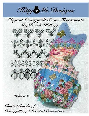 Elegant Crazy Quilt Seam Treatments Volume 2 EBOOK