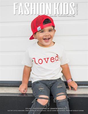 Fashion Kids Magazine | Issue #225- Valentine Special