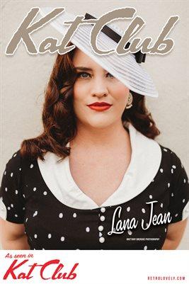 Kat Club No. 42 – Lana Jean Cover Poster