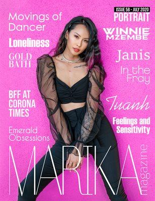 MARIKA MAGAZINE PORTRAIT (July - issue 58)