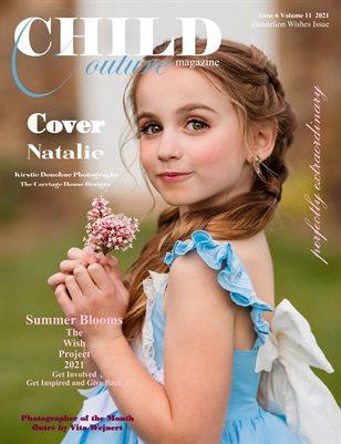 Child Couture Magazine Issue 6 Volume 11 2021 Dandelion Wishes Issue