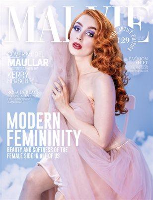 MALVIE Magazine The Artist Edition Vol 129 January 2021