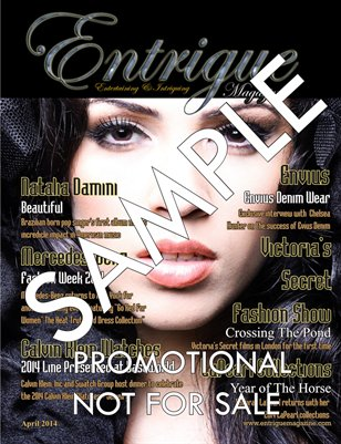 Entrigue Magazine Promotional Copy #2 Music