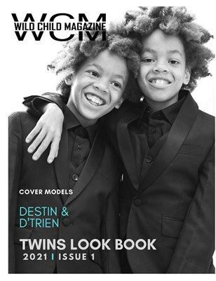 WILD CHILD MAGAZINE TWINS LOOK BOOK ISSUE 1