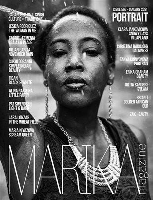 MARIKA MAGAZINE PORTRAIT (ISSUE 563 - January)
