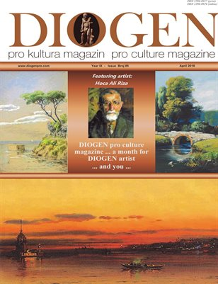 DIOGEN pro culture magazine No 85, April 2018