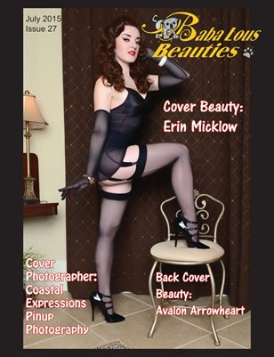 Baba Lous Beauties- Anything Pin Up Issue 27: July 2015