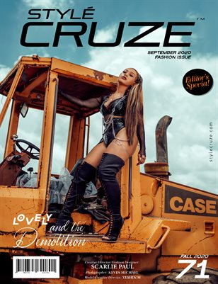 SEPTEMBER 2020 Issue (Vol: 71) | STYLÉCRUZE Magazine