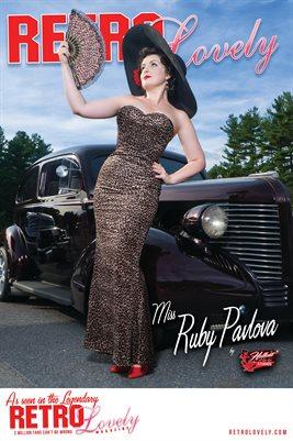 Miss Ruby Pavlova Cover Poster