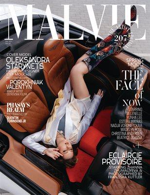 MALVIE Magazine The Artist Edition Vol 207 May 2021
