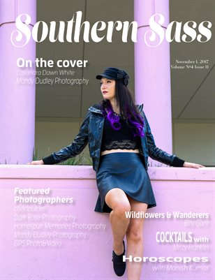 Southern Sass Magazine | Volume 4 Issue eleven | Glam Rock Issue