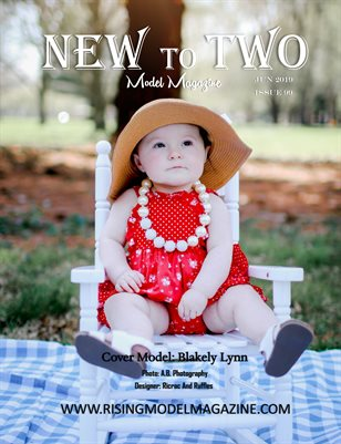 New To Two Model Magazine Issue #99
