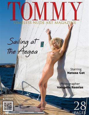 Natasa Gat - Sailing at the Aegean - Vangelis Rassias