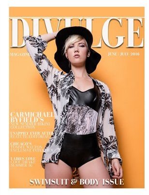 DiVulge Magazine June July, Swimsuit and Body Issue vol 17