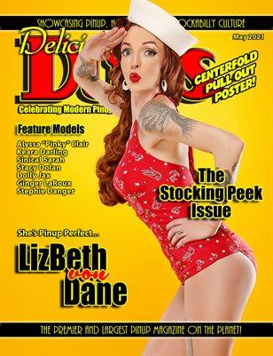 Delicious Dolls May 2021 Stocking Peek Issue LizBeth von Dane