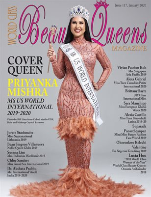 World Class Beauty Queens Magazine Issue 17 with Priyanka Mishra
