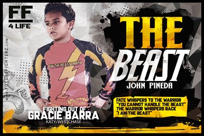 John Pineda Jr Yellow Beast Poster