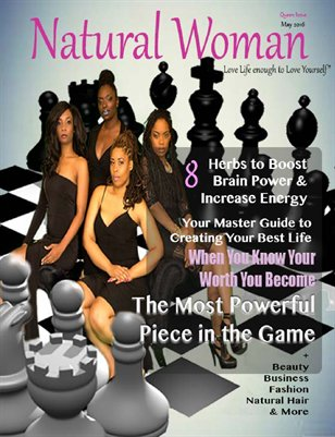 Natural Woman Magazine Queen Issue May 2016