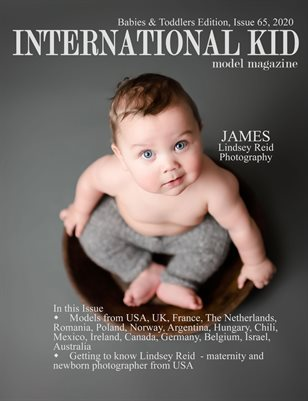 International Kid Model Magazine Issue #65 Babies & Toddlers Edition