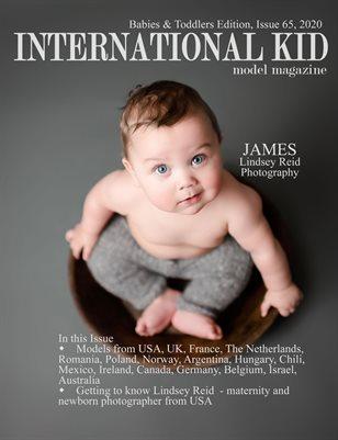 International Kid Model Magazine Issue #65 Babies & Toddlers Edition