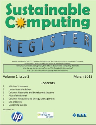 Sustainable Computing Register - March 2012