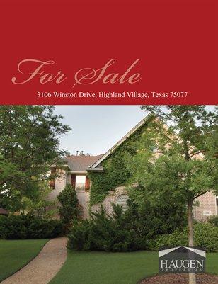 Haugen Properties -  3106 Winston Drive, Highland Village, Texas 75077