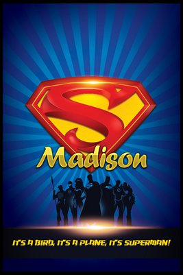 Madison Superman - Poster