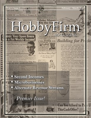 HobbyFirm Magazine, Vol. 1 Issue 1