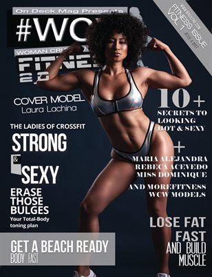 #WCW Magazine Fitness Edition 2 Laura