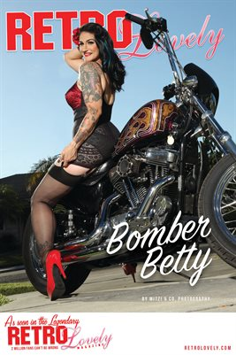 Bomber Betty Cover Poster