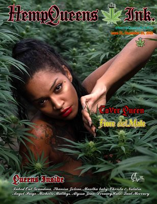 HempQueens Ink. Magazine ~ Issue 21 ~ Fiore del Male