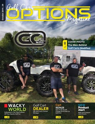 Golf Car Options Magazine - October 2019