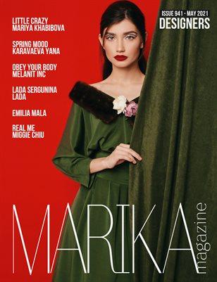 MARIKA MAGAZINE DESIGNERS (ISSUE 941 - MAY)