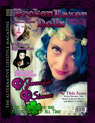 BROKEN RAZOR DOLLS (THE ALTERNATIVE LIFESTYLE MAGAZINE)March 2016