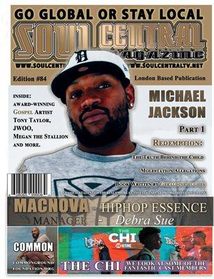 Soul Central Magazine 84 Indie Artist Macnova