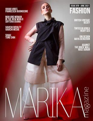 MARIKA MAGAZINE FASHION (ISSUE 979 - JUNE)